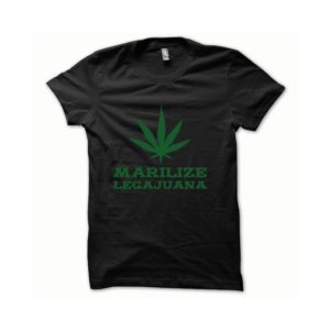 T-shirt Marilize Legajuana green-black