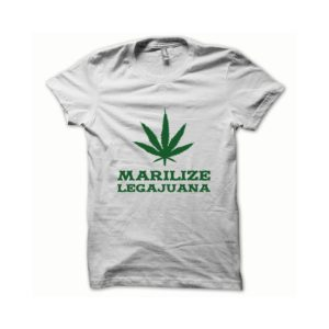 T-shirt Marilize Legajuana green-white