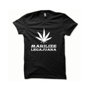 T-shirt Marilize Legajuana white-black