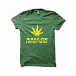 T-shirt Marilize Legajuana yellow-green