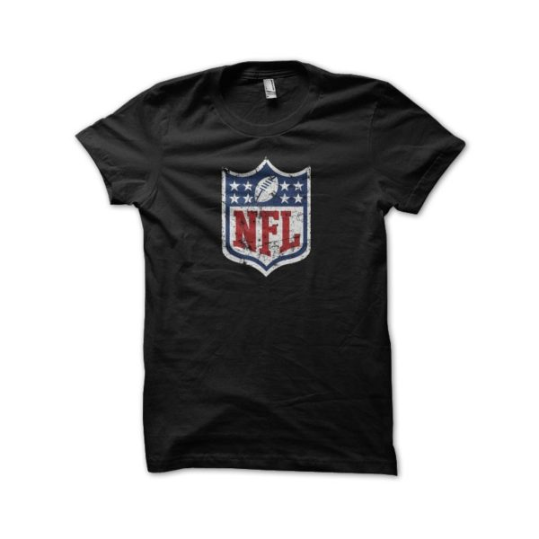 T-shirt NFL vintage black