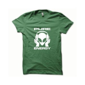 T-shirt Pure Energy white-green