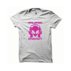 T-shirt Pure Energy white-pink