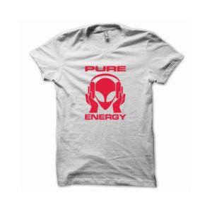 T-shirt Pure Energy white-red
