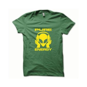 T-shirt Pure Energy yellow-green