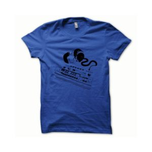 T-shirt Roland TB-303 black-blue