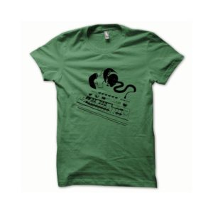 T-shirt Roland TB-303 black-green