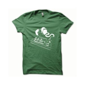T-shirt Roland TB-303 white-green