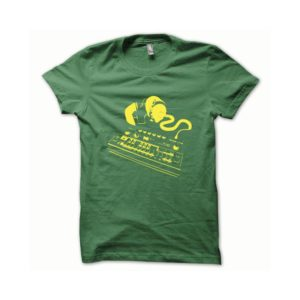 T-shirt Roland TB-303 yellow-green