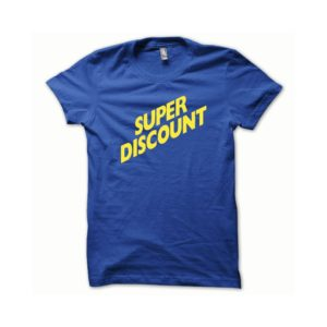 T-shirt Super Discount yellow-blue