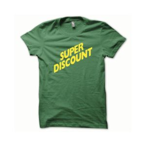 T-shirt Super Discount yellow-green