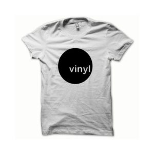 T-shirt Vinyl black-white
