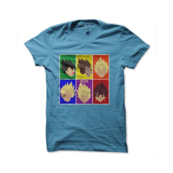 T-shirt dragon ball characters majin