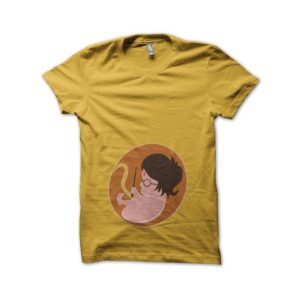 T-shirt foetus Harry Potter yellow