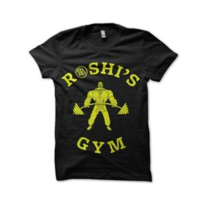 T-shirt roshis gym turtle great dragon ball