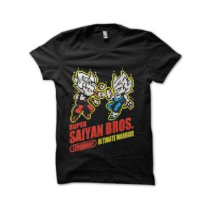 T-shirt super sayan bros dragon ball