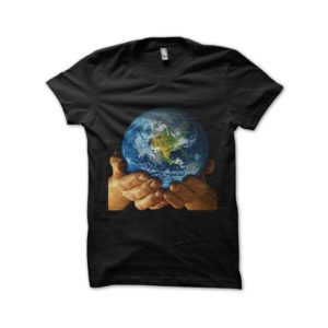 T-shirt take care of the black planet