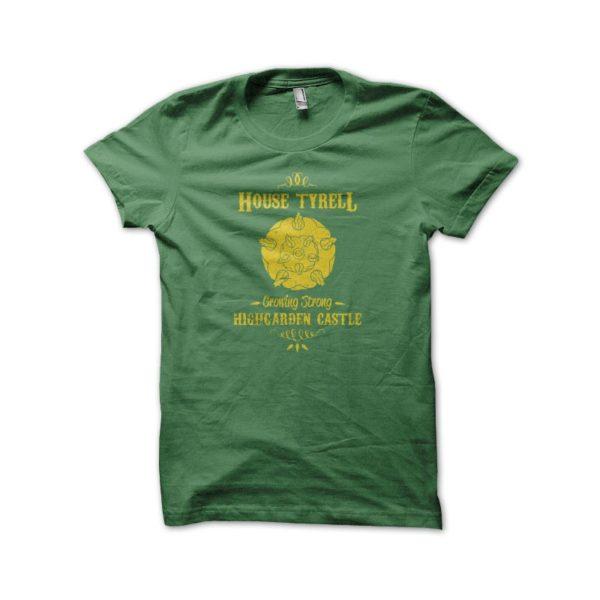 Tee Shirt Green House Tyrell