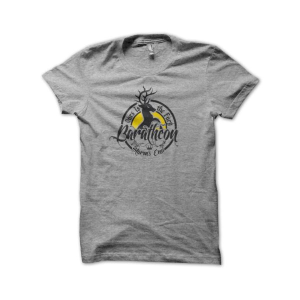 Tee Shirt House Baratheon gray