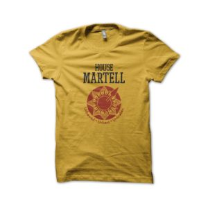 Tee Shirt House Martell yellow