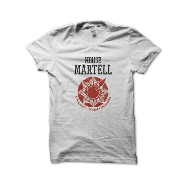 Tee Shirt White House Martell