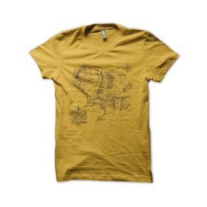 Tee Shirt Yellow Card earth environment