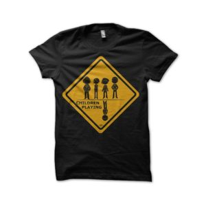 Tee shirt Stranger things - Children playing