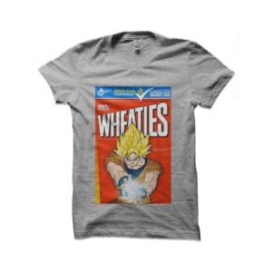 Tee shirt songoku cereals dragon ball