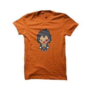 Tee shirt vegeta dragon ball cartoon