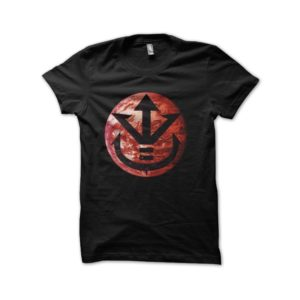 Tee shirt vegeta dragon ball planet