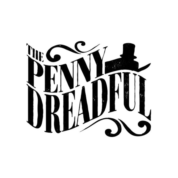 White tee shirt penny dreadful logo