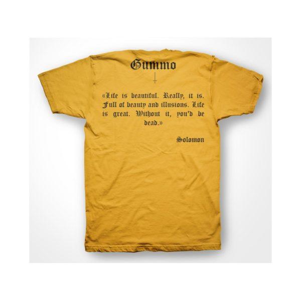 Yellow tee shirt Gummo