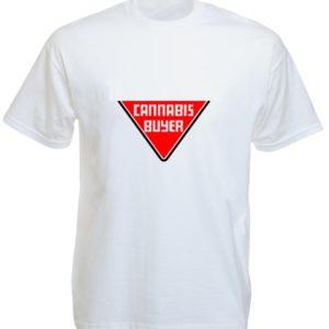 Tee-Shirt Cannabis Buyer White Tee-Shirt