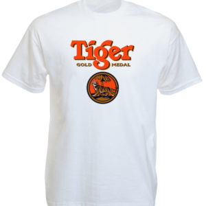 Tiger Beer Singapore White Tee-Shirt