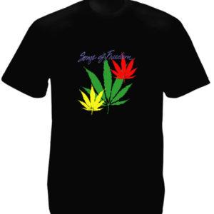 Bob Marley Songs of Freedom Black Tee-Shirt