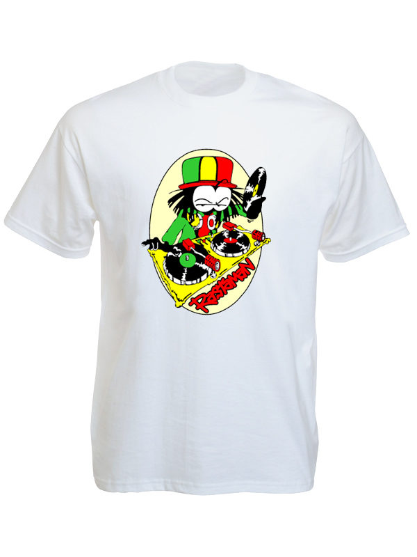 Rastaman Dready White Tee-Shirt