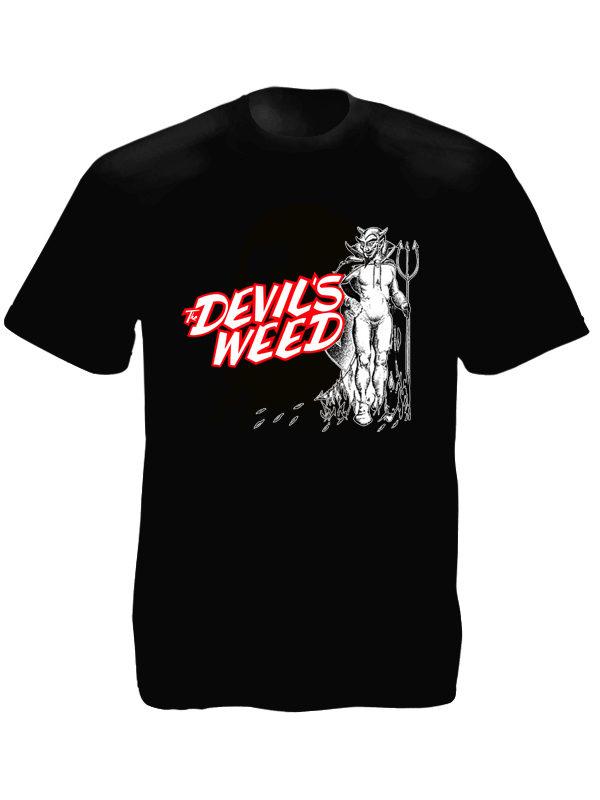 T-Shirt Noir Cannabis Pharmaceutique
