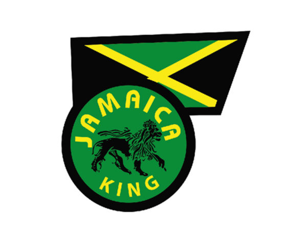 Jamaica Flag Jamaica King White Tee-Shirt