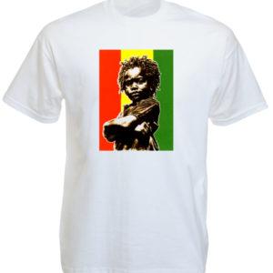 Jah Rasta Baby White Tee-Shirt
