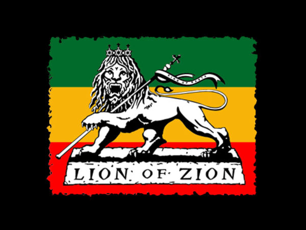 Lion of Zion Black Tee-Shirt
