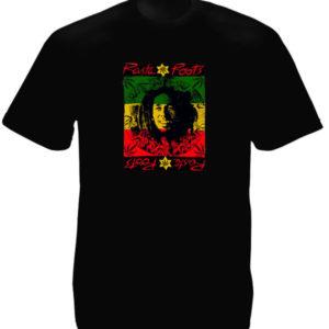 Bob Marley Jesus Christ Black Tee-Shirt