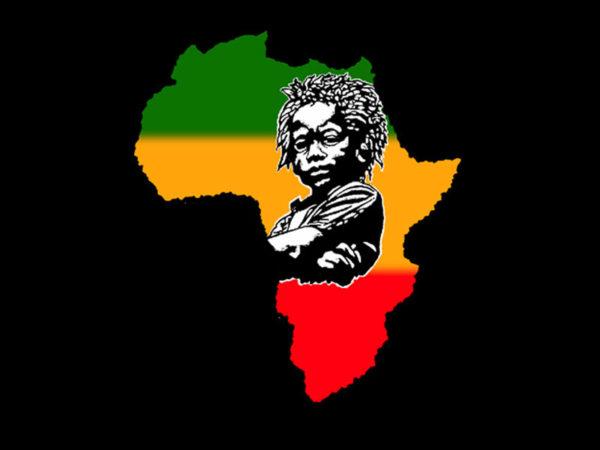 Africa Unite Baby Rasta Black Tee-Shirt